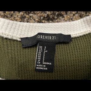 Olive green F21 thermal